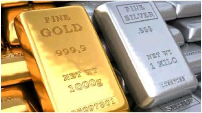 Gold, Silver prices weaken in MCX and Newark Comex - Sakshi