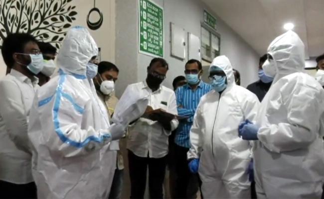 Bhatti Vikramarka Visit RIMS Hospital In Adilabad - Sakshi
