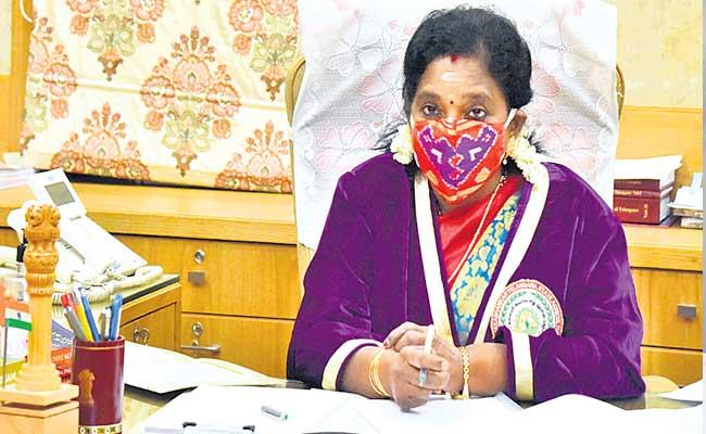 Governor Tamilisai Soundararajan Speaks About Agriculture Development In Telangana - Sakshi