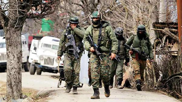 Four Terrorists Deceased In An Encounter With Security Forces In Jammu And Kashmir - Sakshi