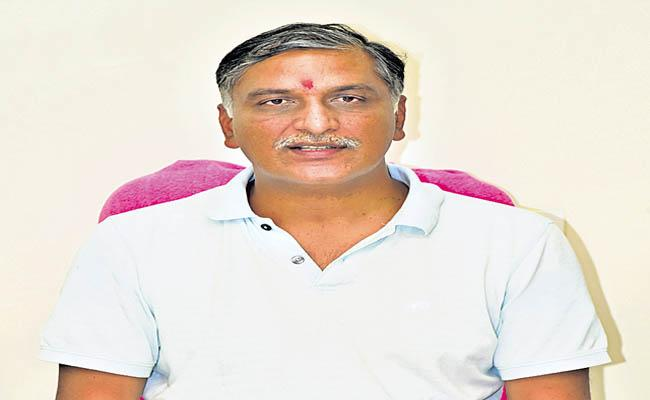 Minister Harish Rao In Video Conference With GST Council - Sakshi