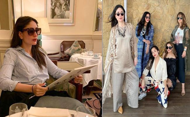 Kareena Shares Old Pic From Restaurant - Sakshi