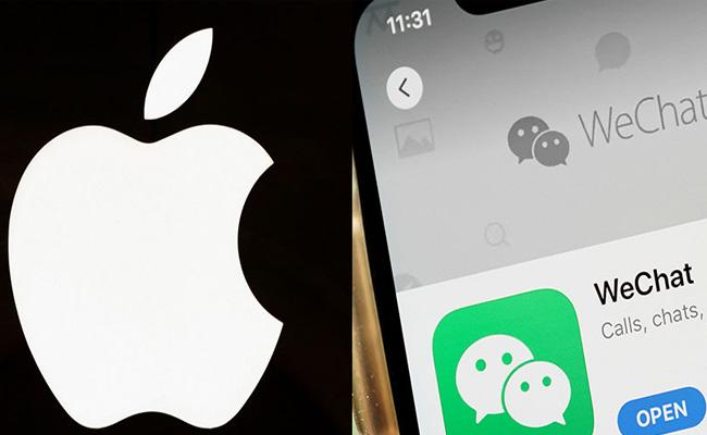 Chinese consumers could boycott Apple if US bans WeChat, warns ministry - Sakshi