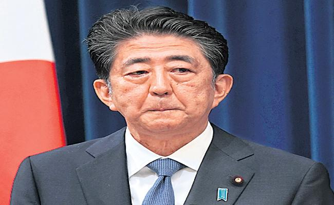 Japan Prime Minister Shinzo Abe resigns due to illness with many issues - Sakshi