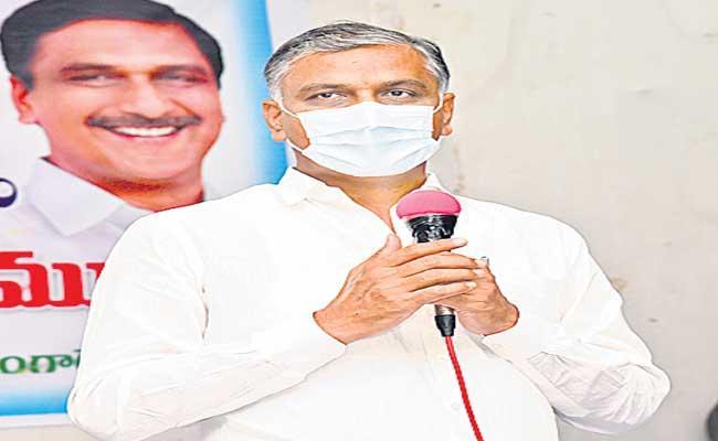 Rs 7400 Crore Paying For Rythu Bandhu Scheme Says Harish Rao - Sakshi