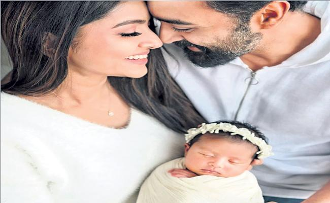 Actress Sneha shares her daughter Aadhyantha - Sakshi