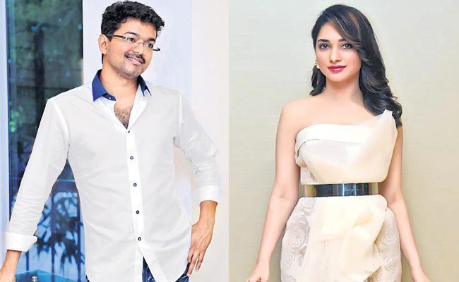 Tamannaah to romance Vijay in AR Murugadoss - Sakshi