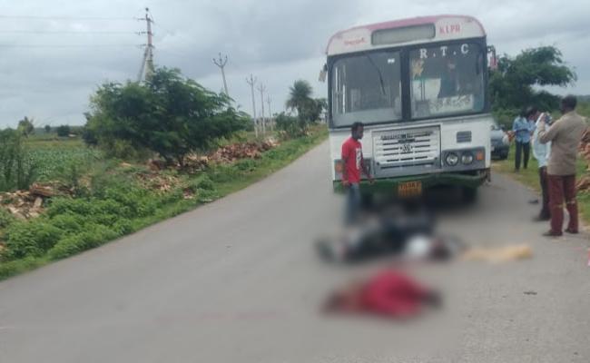 Raksha Bandhan Siblings Deceased In Road Accident At Wanaparthy - Sakshi