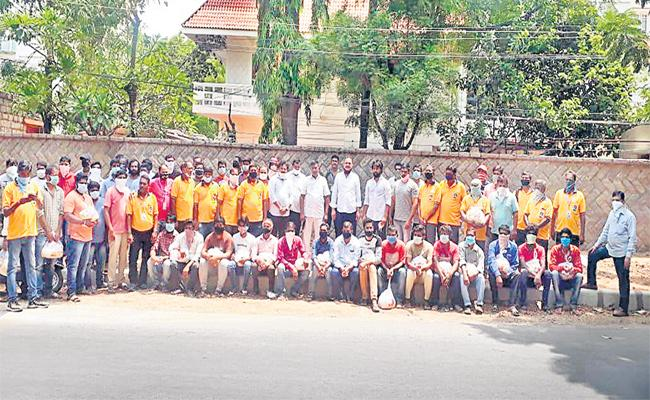 Laxman Special Story on Raksha Bandhan Social Service Hyderabad - Sakshi