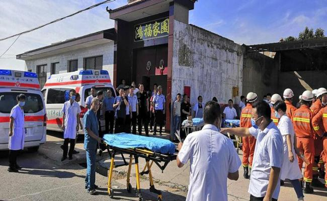 17 killed as restaurant collapses in China - Sakshi