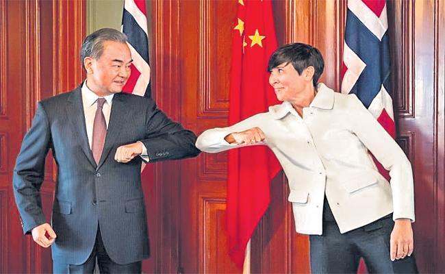 China Warns Norway Against Granting Nobel Peace Prize To Hong Kong - Sakshi