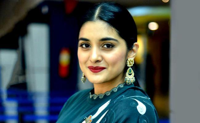 Nivetha Thomas talking about V movie - Sakshi