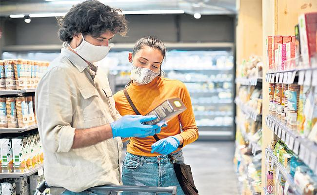 People Purchase Changes In Market Due To Coronavirus - Sakshi