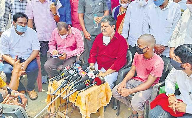 Andhra Pradesh Government Will Support Srikanth Says MLA Annamreddy Adeepraj - Sakshi