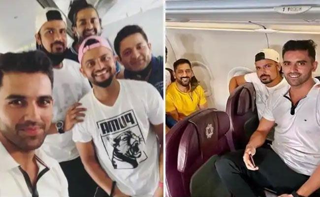 Cricketers Deepak, Rahul Chahar Whatsapp Chat Goes vVral - Sakshi