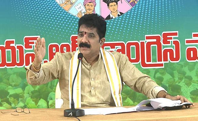 YSRCP MLA Karanam Dharmasri Comments On Chandrababu - Sakshi