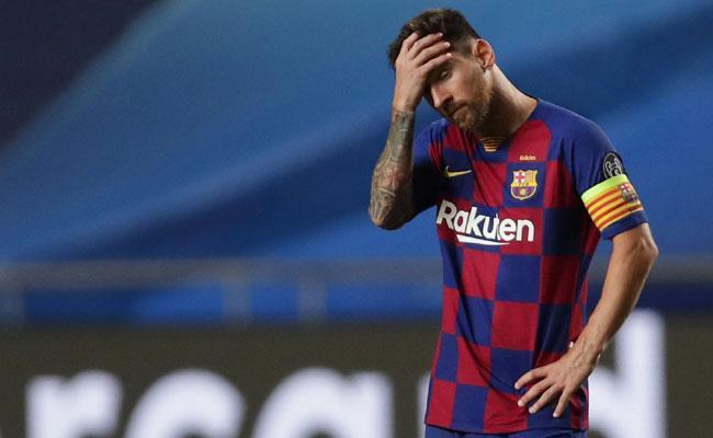 Lionel Messi Skips Medical As La Liga Sides With Barcelona - Sakshi