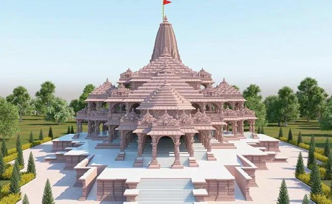 Proposed Look Of The Ram Temple In Ayodhya - Sakshi