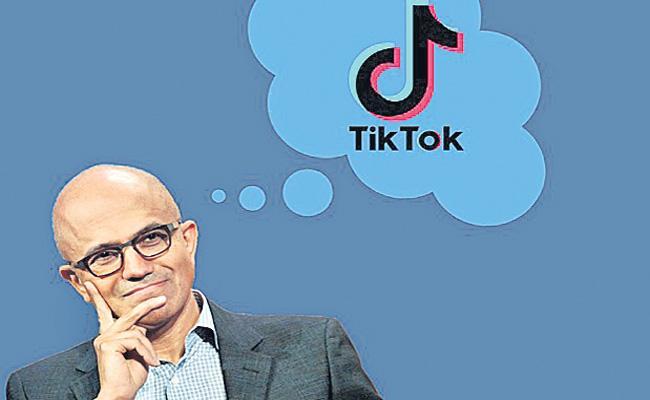 Microsoft pushes for TikTok takeove - Sakshi