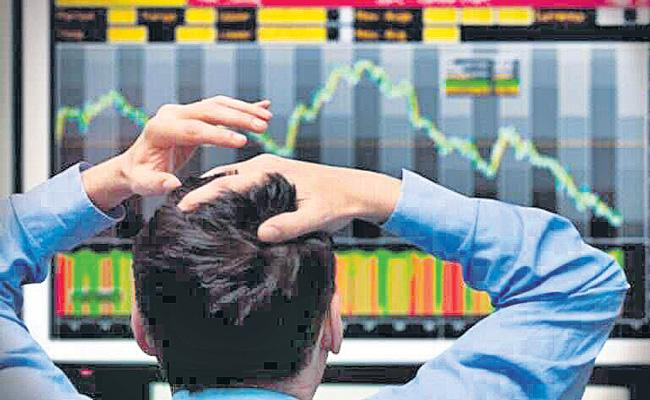Sensex and Nifty Extend Losses To Fourth Day In A Row - Sakshi