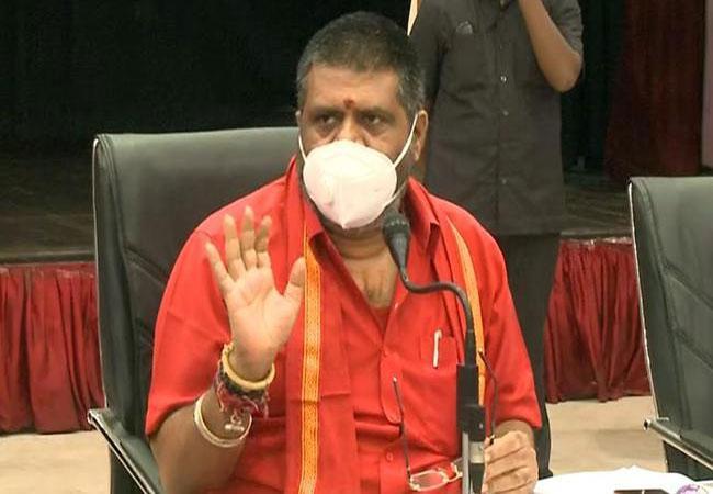 Avanthi Srinivas Expressed Condoles Over Death Of Vangapandu - Sakshi