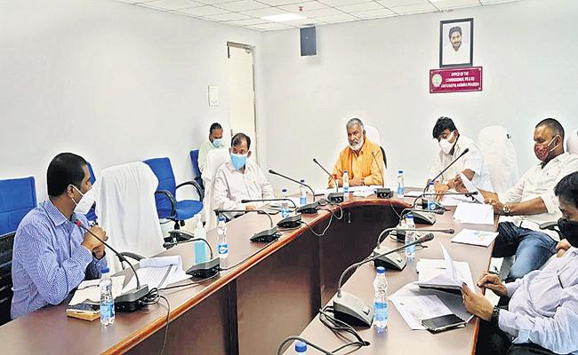 AP Ministers Comments On Sand Issue In a Review Meeting With Officials - Sakshi