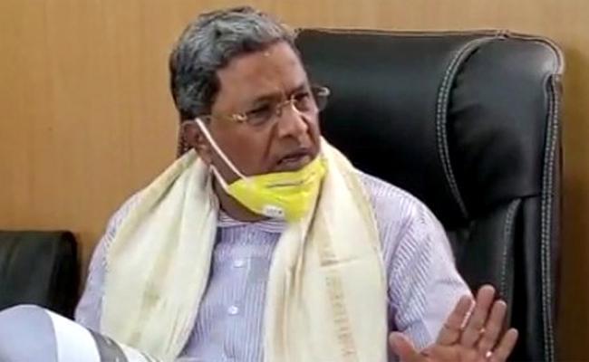 Former Karnataka CM Siddaramaiah tests positive for coronavirus - Sakshi