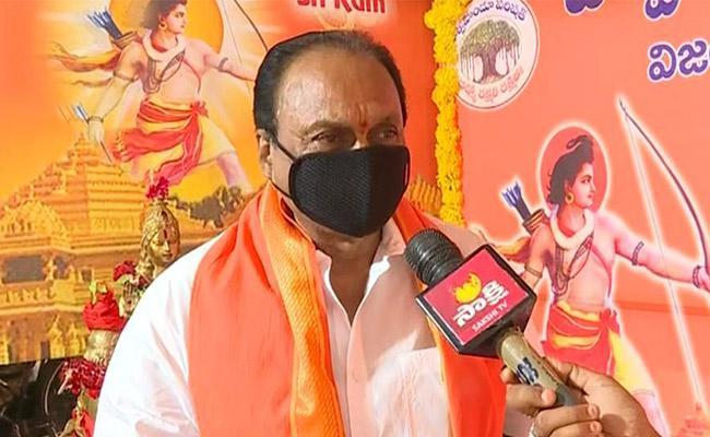 Ayodhya Temple: Gokaraju Ganga Raju Says Today Is a Historoc day - Sakshi