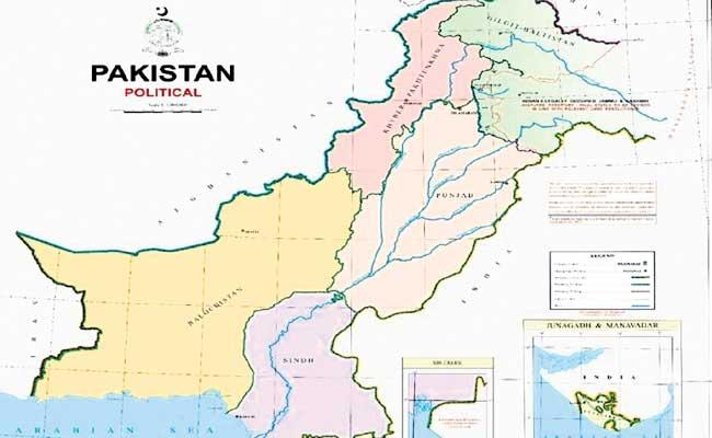 Pakistan Government Released New Map Including Jammu And Kashmir - Sakshi