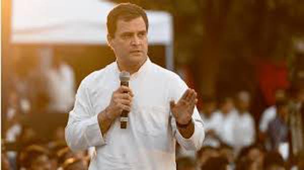 Rahul Gandhi Tweets On Ayodhya Groundbreaking Ceremony - Sakshi