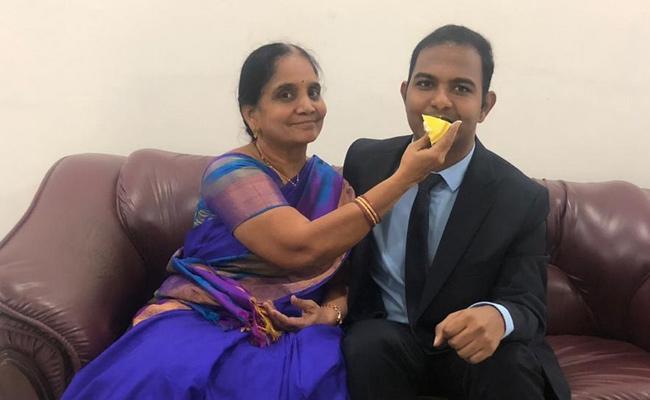76th Rank Holder Surya Theja Special Story Guntur - Sakshi