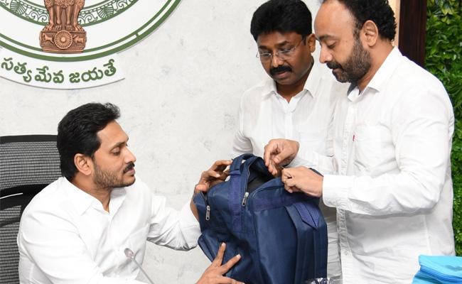 CM YS Jagan held a high-level review on the progress of Manabadi Nadu Nedu - Sakshi