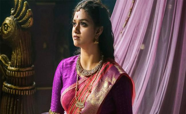 Keerthy Suresh in Sridevi Hit Movie Sequel - Sakshi