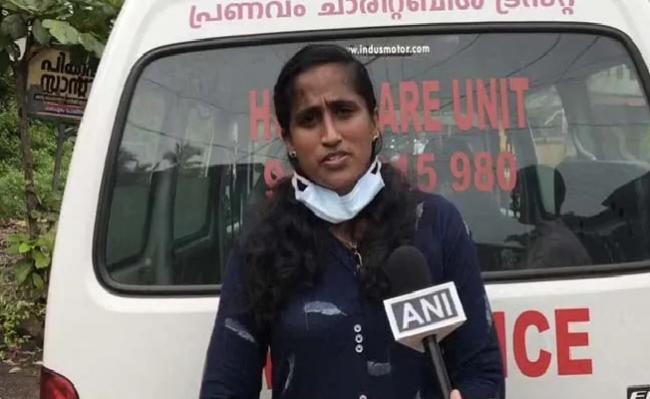 Kerala Woman Drives Ambulance Amid Coronavirus Pandemic - Sakshi