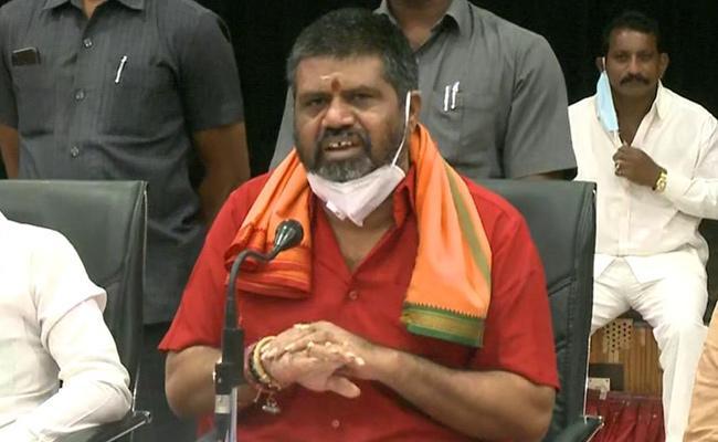 Avanthi Srinivasa Says Visakhapatnam capital Is Source Of Income - Sakshi