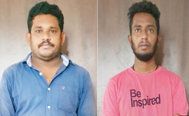 Two Arrested In Land Grabbing Case - Sakshi