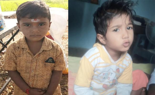 Two Children Deceased in Septic Tank Hole Karimnagar - Sakshi