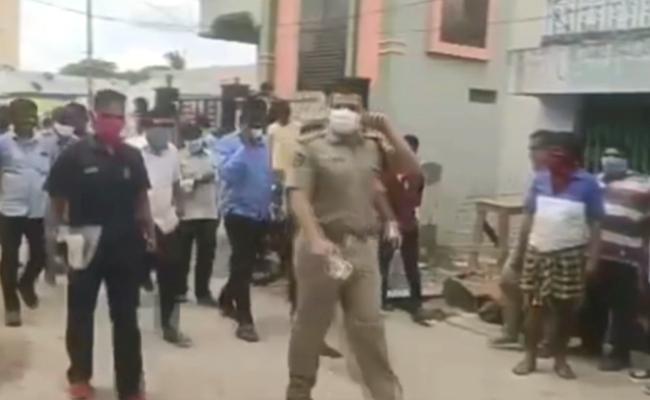 Police Have Arrested Man In Prakasam District Sanitizer Case - Sakshi
