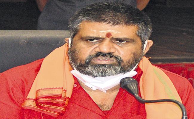 Avanti Srinivas challenges Chandrababu - Sakshi