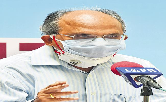 KS Jawahar Reddy Comments On Corona Virus - Sakshi