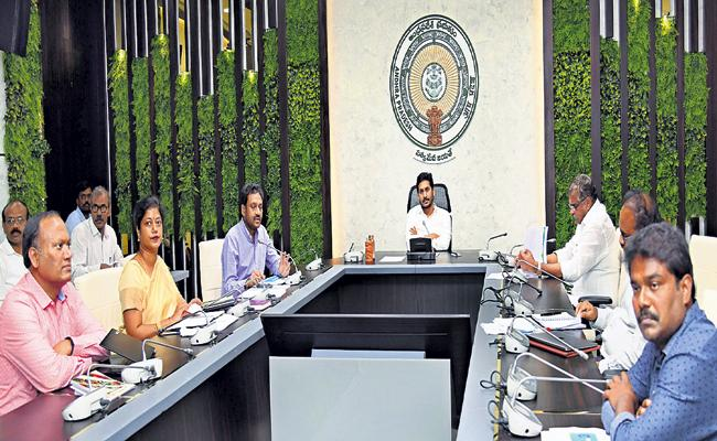 CM Jagan in a review on reforms suggested by Central Govt - Sakshi