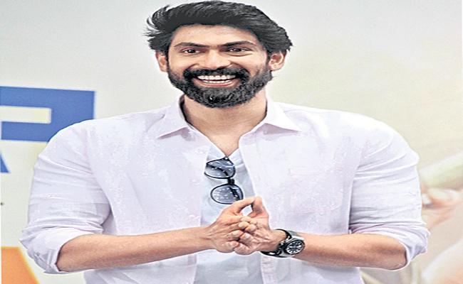 Rana Daggubati to work with director Milind Rau next - Sakshi