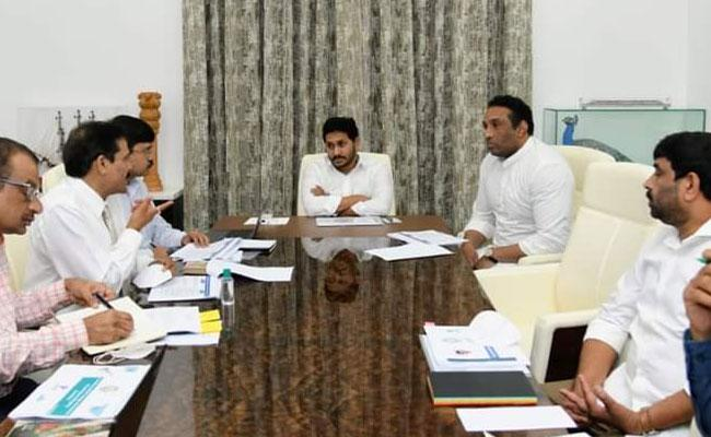 CM YS Jagan Review Meeting On Skill Development Colleges In AP - Sakshi