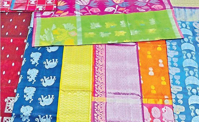Venkatagiri Zari Sarees Famous International Market - Sakshi