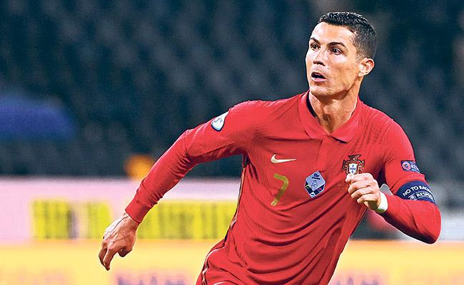Ronaldo Sets New Record After Surpassing 100 Goals - Sakshi