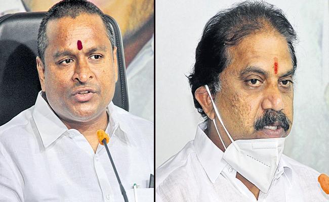 Vellampalli Srinivas And Malladi Vishnu Comments On Chandrababu - Sakshi