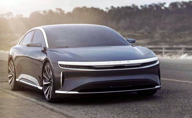 Lucid Motors Ready To Release Air Electric Sedan Car - Sakshi