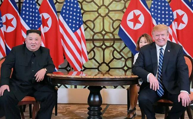 Kim Jong Un Told Donald Trump About Killing His Uncle In Rage Book - Sakshi