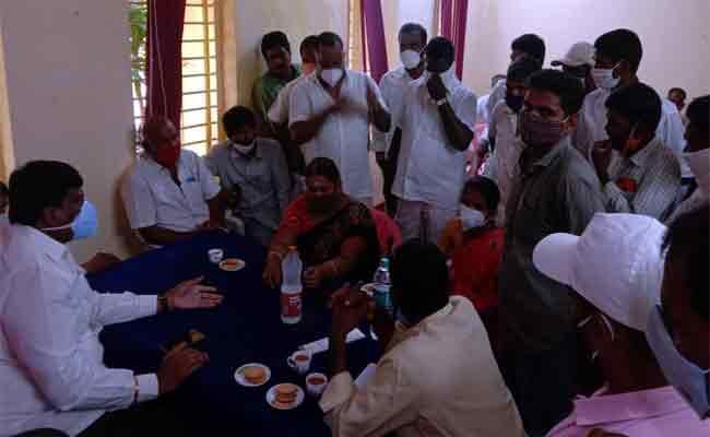 RURBAN Development Work Instead Of Scheduled People Lands - Sakshi