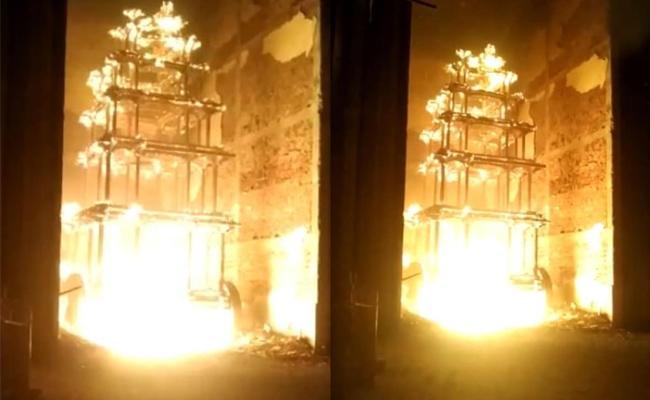 Antarvedi Temple Chariot Burning Case Hand Over To CBI - Sakshi